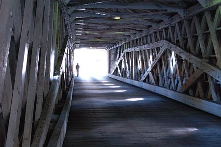 the Cornwall Covered Bridge